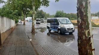 Todo esto se tuvo que hacer ayer en Guadalajara como consecuencia de las fuertes lluvias