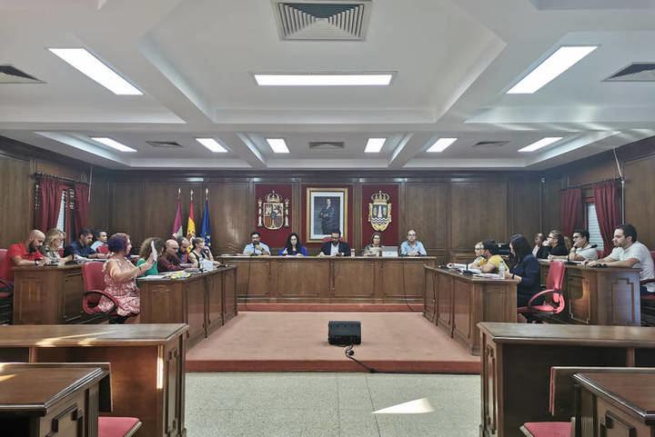 Unn momento del Pleno municipal. Fotografía: Ayuntamiento de Azuqueca de Henares