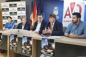 La Concejalía de Deportes anima a participar en la VI Carrera Solidaria de Central Óptica de Guadalajara en beneficio de la asociación 'Acuérdate de Vivir'