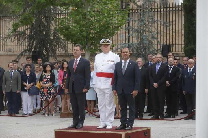 """El delegado del Gobierno en Castilla-La Mancha, Francisco Tierraseca, en la celebración del """"Día de la Delegación de Defensa"""""""