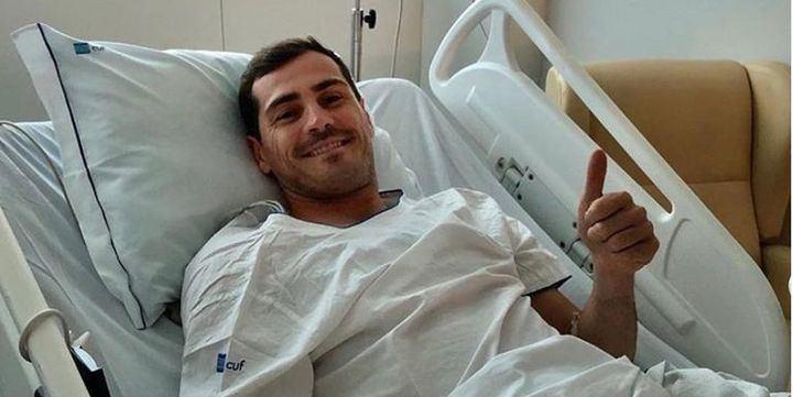 DIEZ MINUTOS Iker Casillas revela cómo está tras sufrir un infarto el pasado mes de mayo