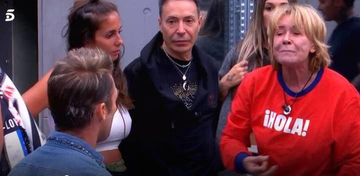Mila Ximénez la lía gorda en GHVIP con Hugo tras mencionarle a Rodríguez Menéndez