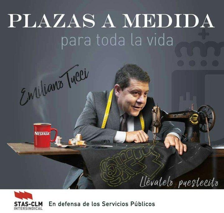 Composición realizada por el sindicato STAS de Castilla-La Mancha