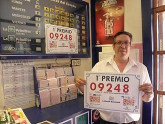 Parte del primer premio de la Lotería Nacional de este jueves cae en Horche