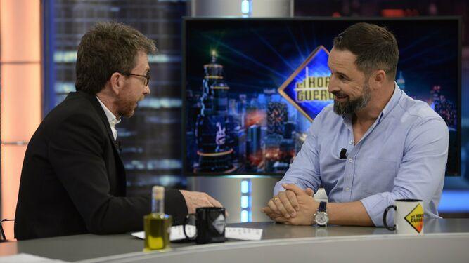 """Santiago Abascal bate récord de audiencia en """"El Hormiguero"""" (4.049.000 espectadores y un 23,5% de share)"""
