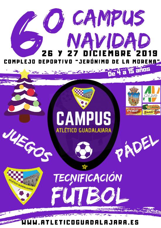 Abierta las inscripciones para el VI Campus de Navidad del Atlético Guadalajara