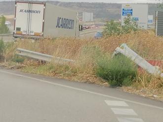 IU alerta del mal estado en el que se encuentran los accesos al municipio de Azuqueca de Henares