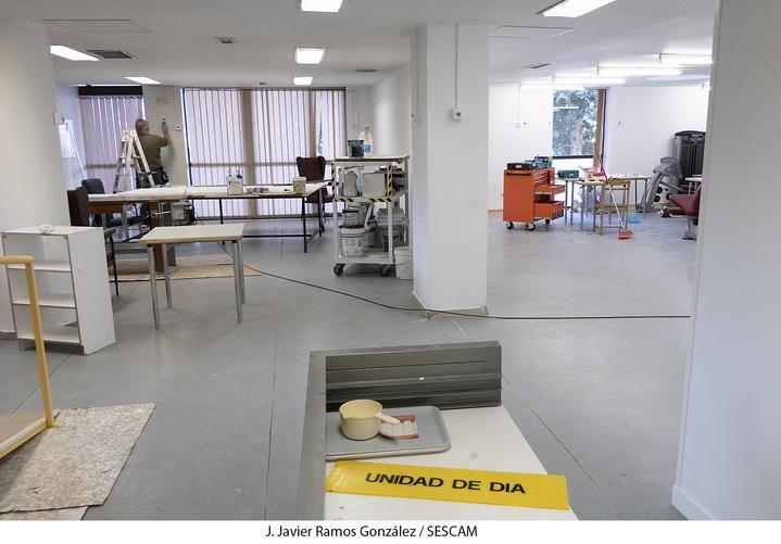El servicio de Admisión del Hospital de Guadalajara se traslada al edificio materno-infantil para ampliar la zona de atención de Urgencias y facilitar la conexión con la zona de ampliación