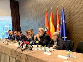 """Agentes económicos y sociales del Corredor del Henares presentan la """"Iniciativa de Reindustrilaización"""" en el Parlamento Europeo"""