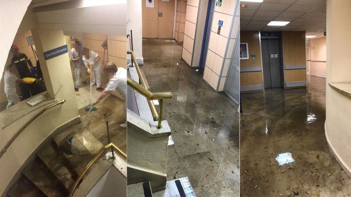 El Hospital 'Virgen de la Salud' de Toledo ya tuvo problemas con el agua hace dos años