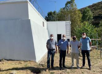 Más de 37.000 eruos para los trabajos de impermeabilización del depósito regulador de agua potable de Pastrana