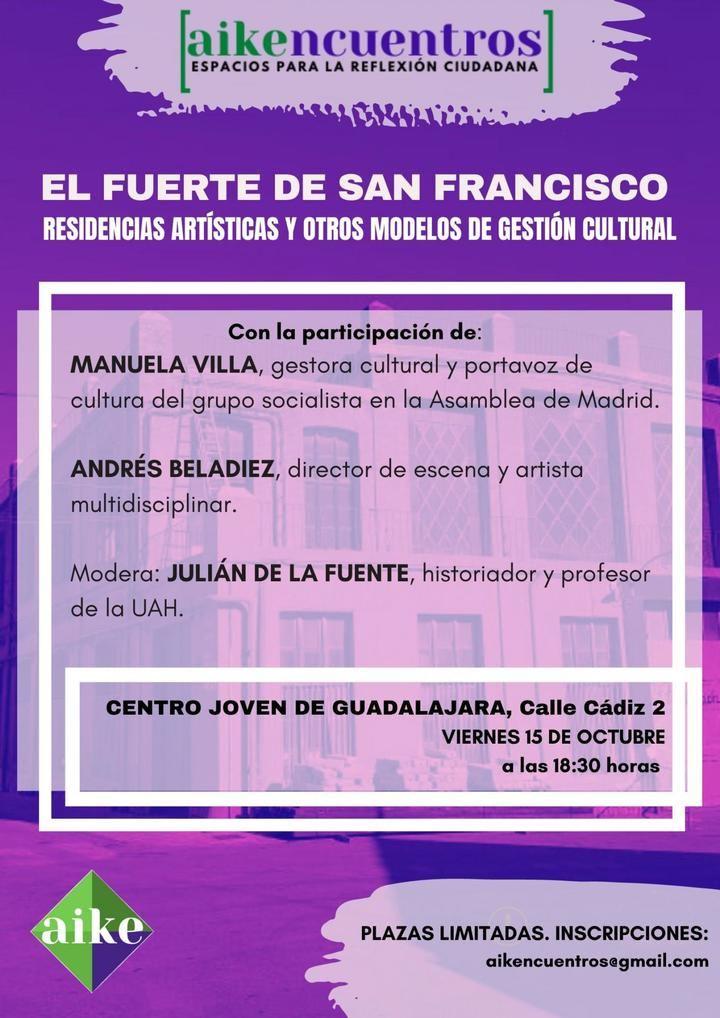 """AIKE presenta los """"AIKENCUENTROS, ESPACIOS PARA LA REFLEXIÓN CIUDADANA"""", con una Mesa REdonda sobre gestión cultural"""