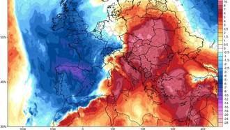 Una masa de aire polar llega a España este fin de semana, los termómetros descenderán entre 10 y 15 grados