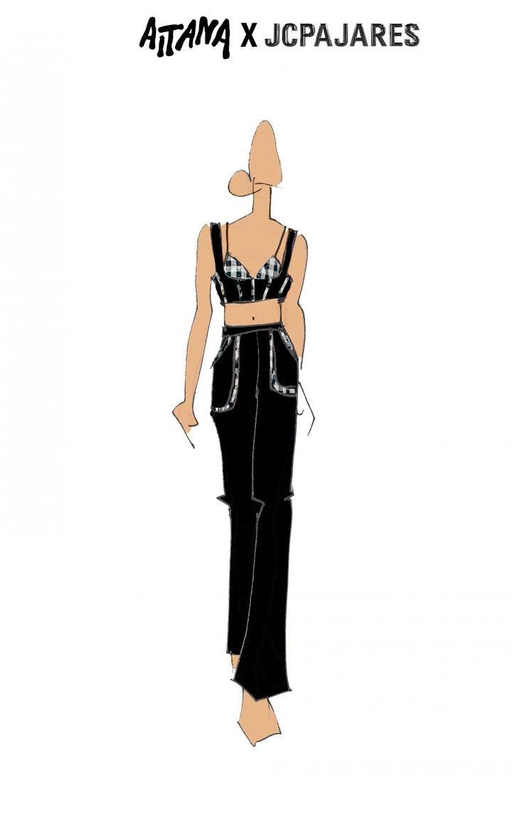 El look noventero de Aitana del diseñador guadalajareño JCPAJARES es todo lo que querrás llevar cuando vuelvas a salir de fiesta
