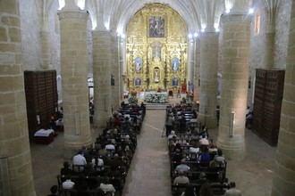 A pesar de la pandemia Albalate de Zorita homenajea un año más a La Santa Cruz Aparecida