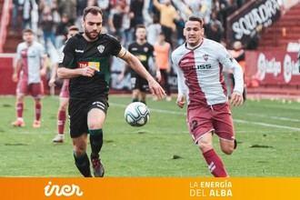 El Alba perdió ante el Elche CF