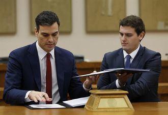 El partido sigue perdiendo activos : Dimite la Junta Directiva de Cs de Álava por el trato