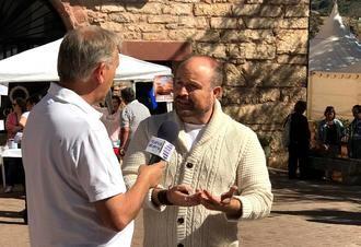 """Alejandro Ruiz: """"Checatur es un referente nacional en cuanto a turismo rural, y la mejor prueba es ver como está el Congreso"""""""