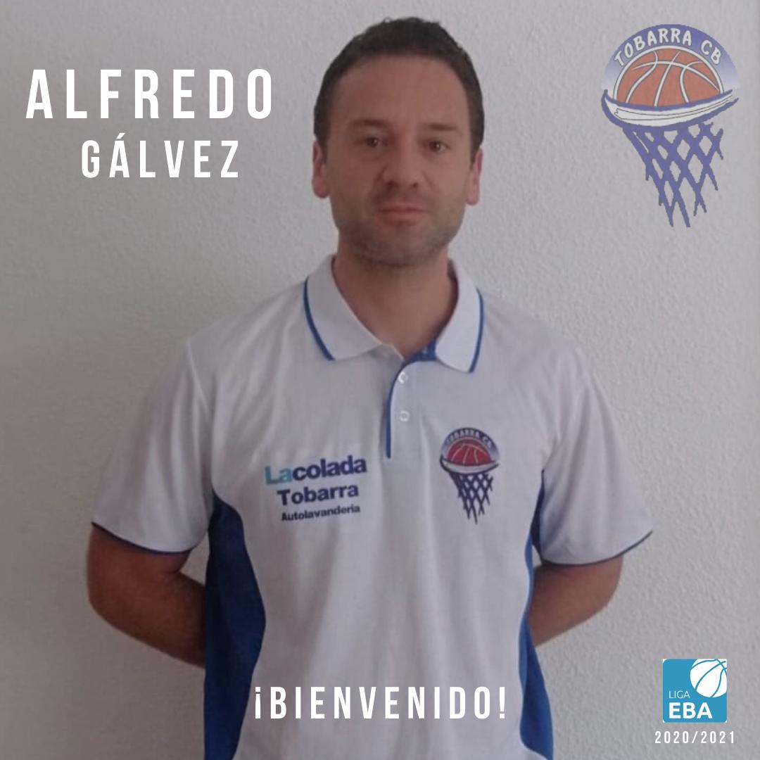 Alfredo Gálvez, nuevo entrenador del Tobarra Club Baloncesto
