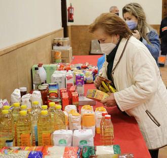 UN APLAUSO : El Ayuntamiento de Almonacid va a entregar 400 kilos de alimentos a Cáritas y Cruz Roja