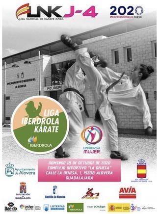 Alovera, acogerá la Liga Nacional de Karate para categoría Junior y Sub21