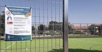 Apertura de las pistas de barrio en Alovera con limitaciones de prevención para los usuarios