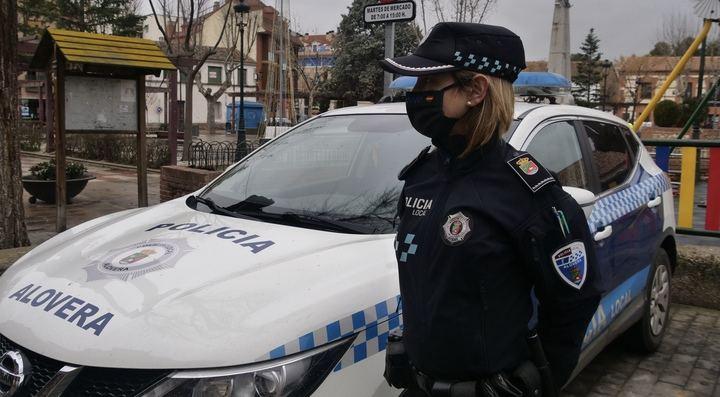 La Policía Local de Alovera denuncia un encuentro grupal de 11 jóvenes que vulnera el estado de Alarma