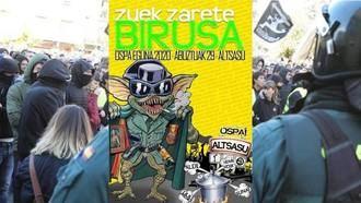 Asociaciones de Guardia Civiles piden a la Fiscalía y al Gobierno de Sánchez/Iglesias suspender la marcha de Alsasua que identifica a las Fuerzas de Seguridad..¡con el coronavirus!