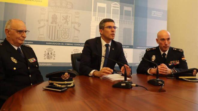 El Subdelegado del Gobierno de Guadalajara Angel Canales se reincorpora a su puesto de profesor