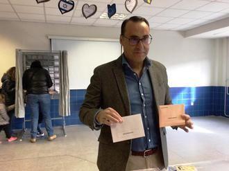 """Antonio de Miguel: """"Ojalá que a partir de esta noche los guadalajareños y españoles recuperemos libertades"""""""