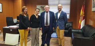 El Colegio de Aparejadores de Guadalajara estrecha lazos con la Dirección General de Vivienda para la inspección de edificios
