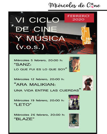 La película premiada en los Goya sobre la vida de Ara Malikian, en el Ciclo de Cine y Música de este mes en Azuqueca