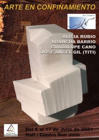La Diputación de Guadalajara acoge la exposición de esculturas