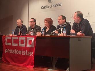 CCOO insta en Guadalajara a recuperar el consenso en materia de pensiones y a incrementar los ingresos del Sistema y los salarios para garantizar #PensionesDignas
