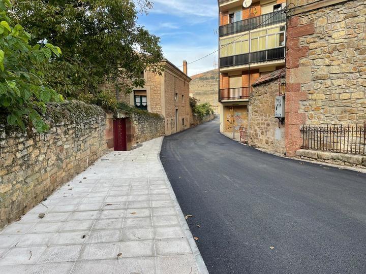 El Ayuntamiento de Sigüenza asfalta otros 8.400 m² de viario público que necesitaban mejoras urgentes