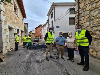 Arranca el primer Plan de Asfaltado de la Diputación de Guadalajara