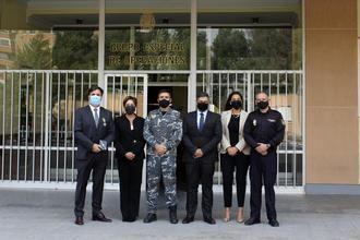El Grupo Especial de Operaciones (GEO) de la Policía Nacional reconoce el trabajo del Grupo ASISA frente a la pandemia