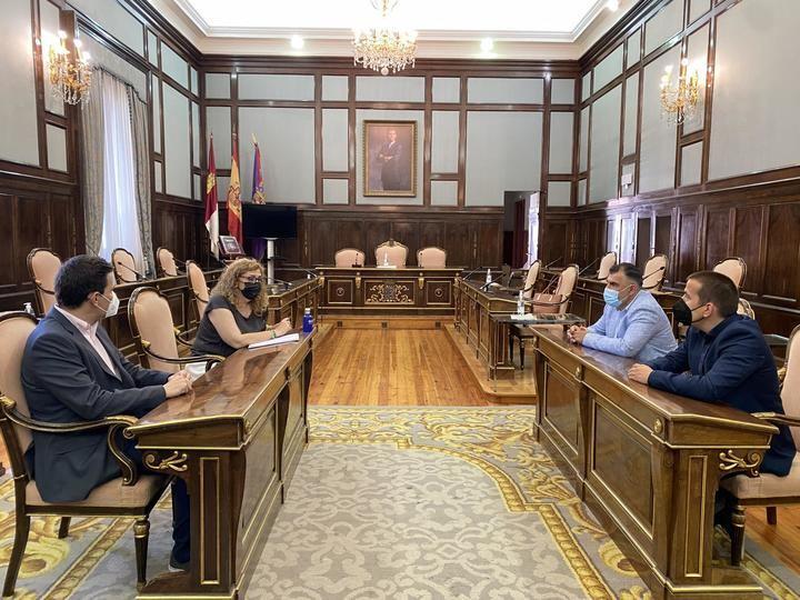 Los empresarios de la Actividad Física y el Deporte de Guadalajara mantiene su primera reunión de trabajo con la Diputación de Guadalajara