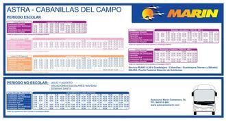 AVISO : Los autobuses Guadalajara-Cabanillas recobran el horario previo a la pandemia a partir del lunes 7 de septiembre