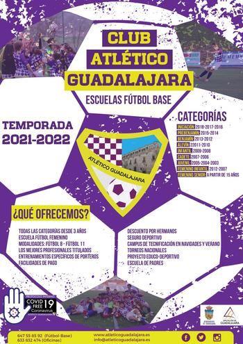 Abierto el plazo de inscripción en el Atlético Guadalajara para la próxima temporada