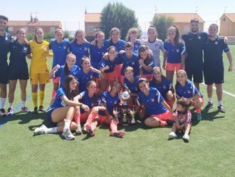 El Atlético de Madrid juvenil se lleva el primer triangular de fútbol femenino