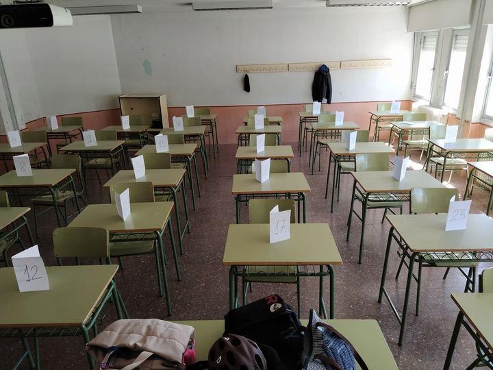 Carta de Protesta redactada por el Claustro de profesores del IES Brianda de Mendoza de Guadalajara