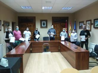 El Ayuntamiento de Jadraque firma ayudas con ocho asociaciones locales por importe de 12.500 euros