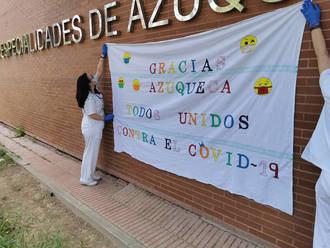 El Ayuntamiento de Azuqueca celebra la fiesta local del 15 de mayo con un acto institucional en Memoria de las Víctimas y Homenaje a las personas, colectivos y entidades que trabajan en la lucha contra la COVID-19