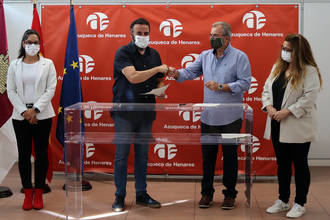 El ayuntamiento de Azuqueca y Casa de Andalucía mantienen su colaboración un año más