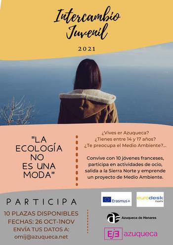 Azuqueca acoge el intercambio bilateral juvenil 'La ecología no es una moda', con la ciudad francesa de Pontonx sur L'Adour