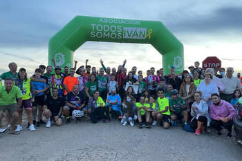 El Ayuntamiento de Azuqueca colaboró en la carrera solidaria de bicicleta 'Cambia tus kms por €'