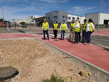 Las obras de urbanización del sector SUR-I11 de Azuqueca se encuentran en su tramo final