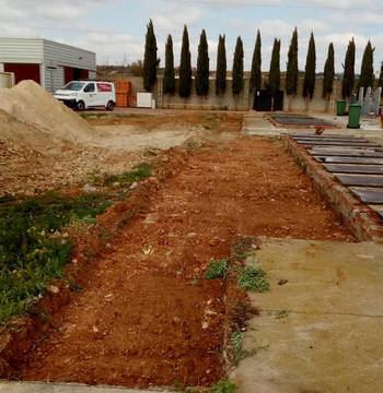 El Ayuntamiento de Azuqueca pone a punto el cementerio disponiendo de 36 fosas preparadas para dar respuesta al incremento de la demanda por el coronavirus