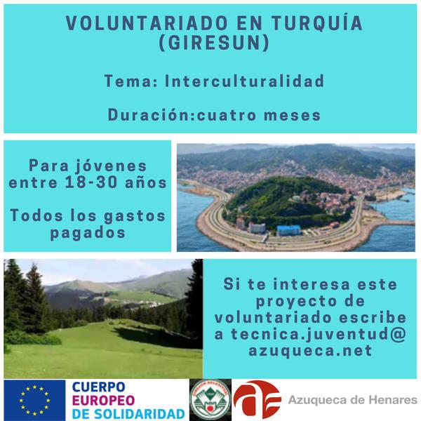 El Ayuntamiento consigue un nuevo proyecto europeo para que jóvenes de Azuqueca pasen 4 meses en Turquía